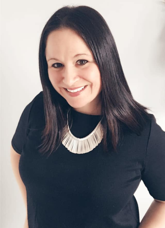 Mount Kisco resident Carinne Mossa is happy with her Stella & Dot independent stylist job.