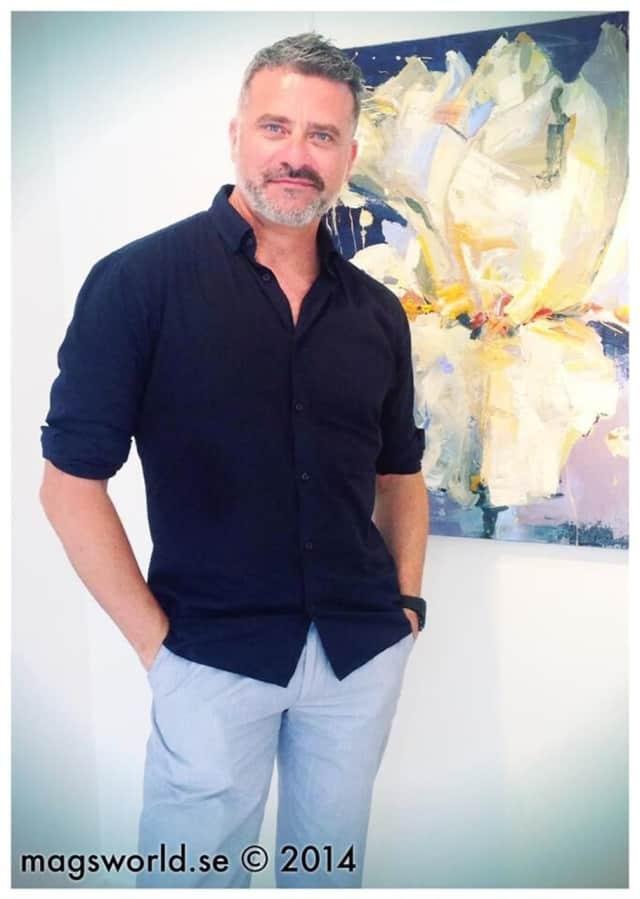 Ridgefield artist Carmelo Blandino