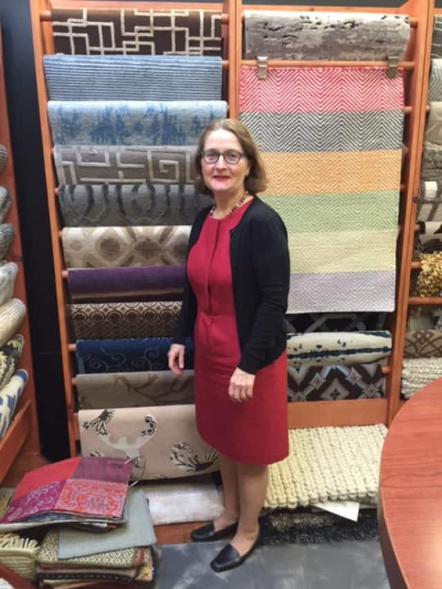 Margaret Ricketts of Carpet Trends which is celebrating 60 years.