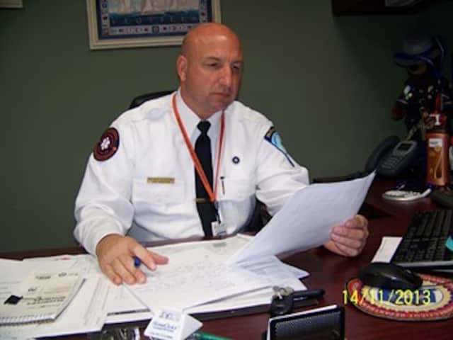 Matthew Cassavechia, director of Danbury's EMS, said the organization is proud to receive the gold award for the second year in a row.