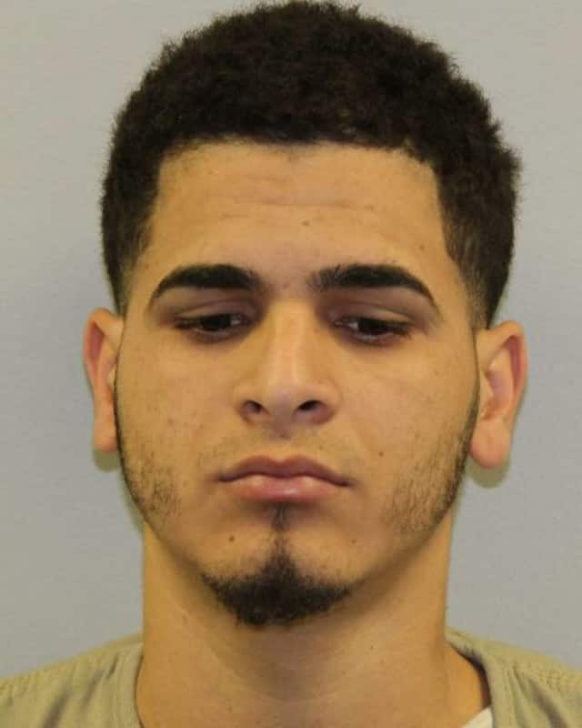 Adonis D. Castro-Espinal was charged with driving towards state troopers at over 100 mph.