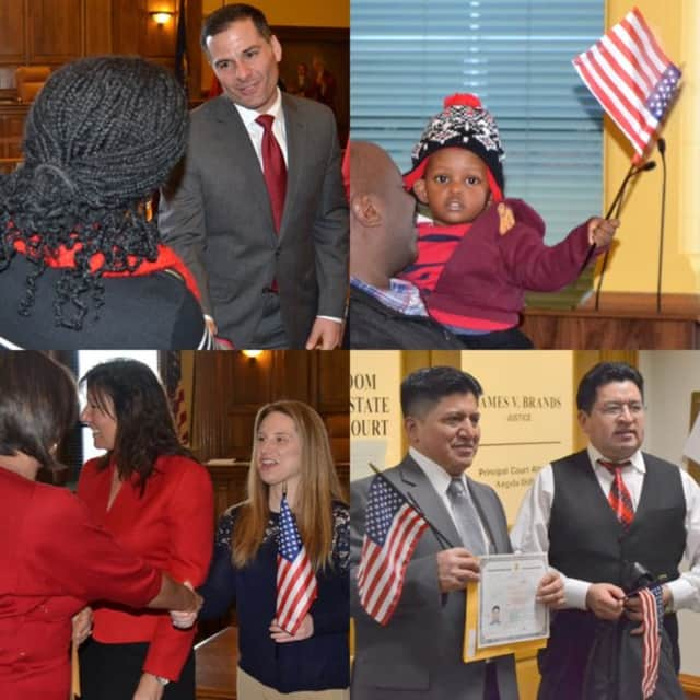 More than 50 people from 35 countries were sworn in as United States citizens during a naturalization ceremony in Dutchess County last week.