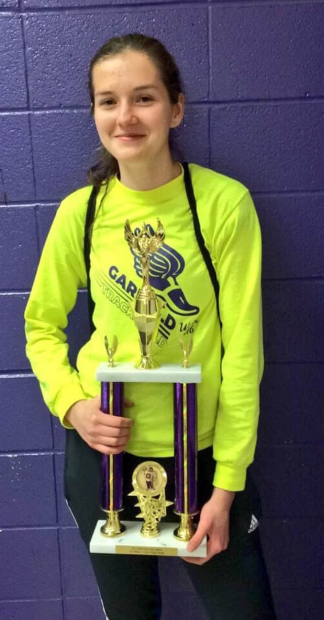 High jumper Kornelia Jablonska emerged victorious at the Bob Chiswell Classic Feb 17.