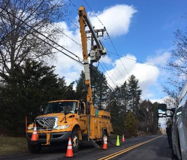 Eversource is continuing to work to restore power across Connecticut on Friday afternoon. Tens of thousands were left in the dark after a powerful storm early Thursday.