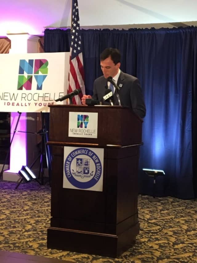 New Rochelle Mayor Noam Bramson postponed the annual State of the City due to coronavirus fears.