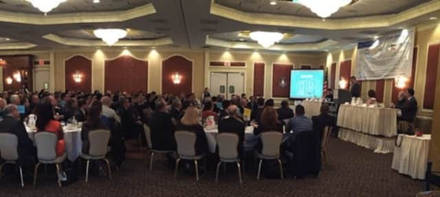 A gathering of the Dutchess County Regional Chamber of Commerce.