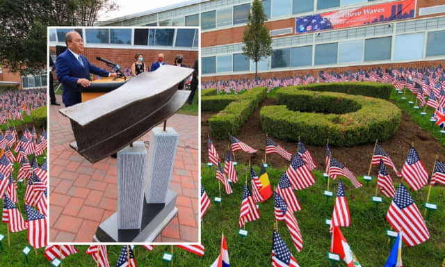 """The installation """"is a source of pride, a sign of how connected today's youth are to that horrible event, and how they are doing extraordinary things to honor those who died that day,"""" O'Toole said."""