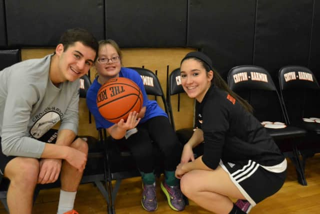 Croton-Harmon High School hosted the Challengers Basketball Clinic.
