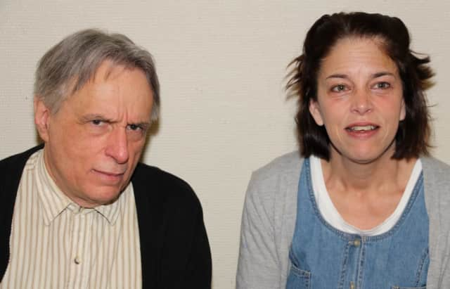 """The cast of """"Chapatti"""" at Square One Theatre includes award-winners Lucy Babbitt of Stratford and Al Kulcsar of Fairfield."""