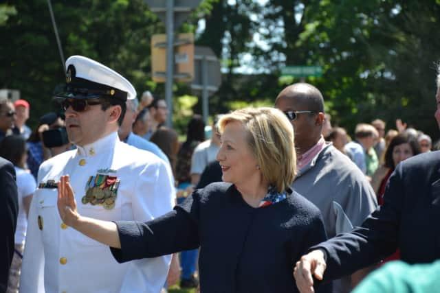A Cresskill fundraiser raised $500,000 Thursday for Hillary Clinton's presidential campaign.