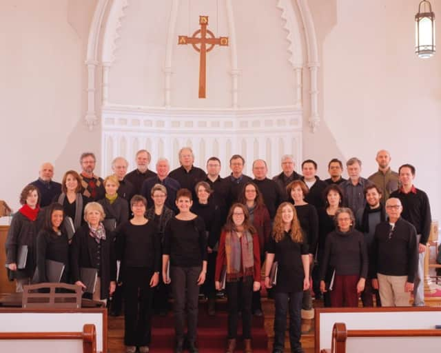 Bedford-based Charis Chamber Voices will perform with the Pro Arte Singers.