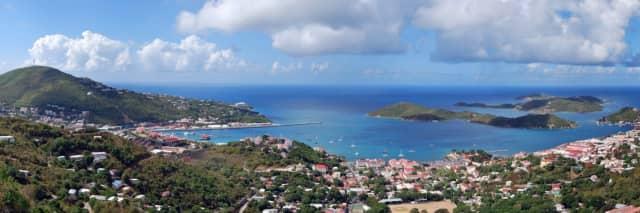 St. Thomas in the U.S. Virgin Islands.
