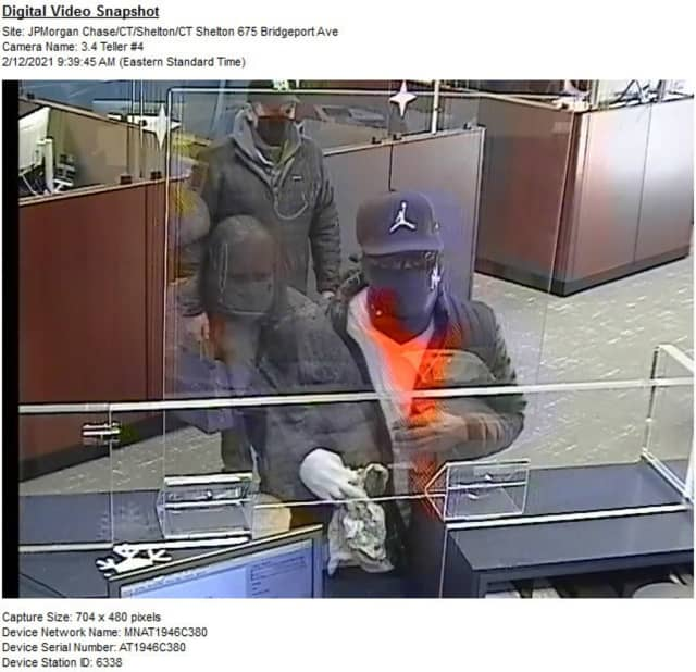 Police are asking for help identifying a man who robbed a Fairfield County bank.