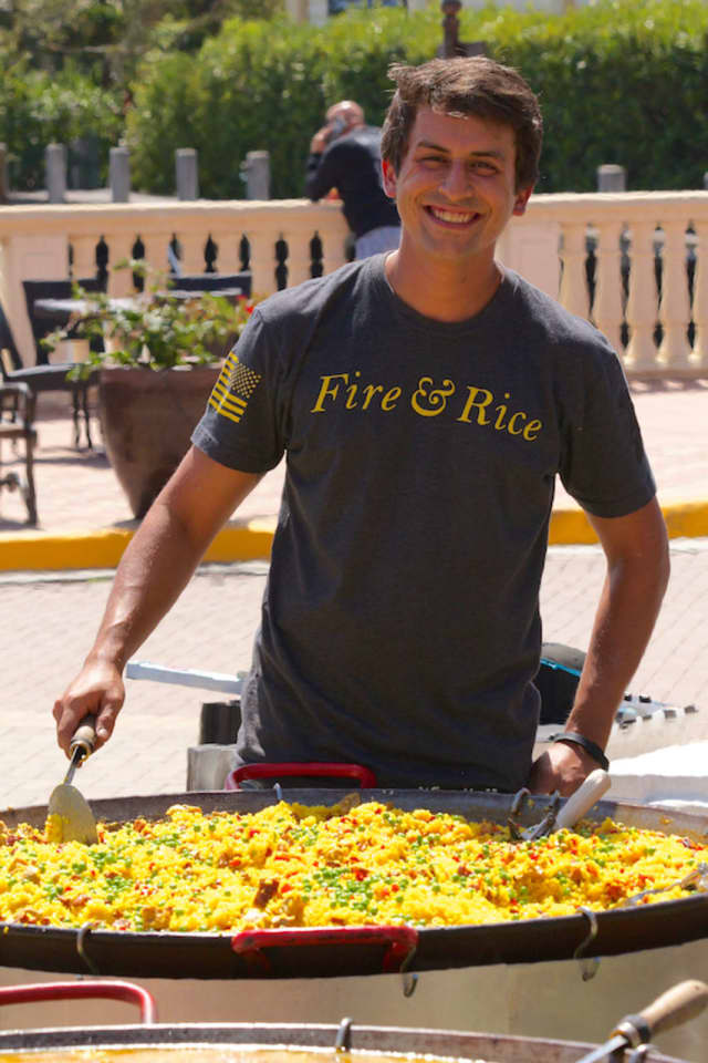 Chef Glenn Michael Tatangelo has opened the newest location of Fire & Rice in Fairfield.