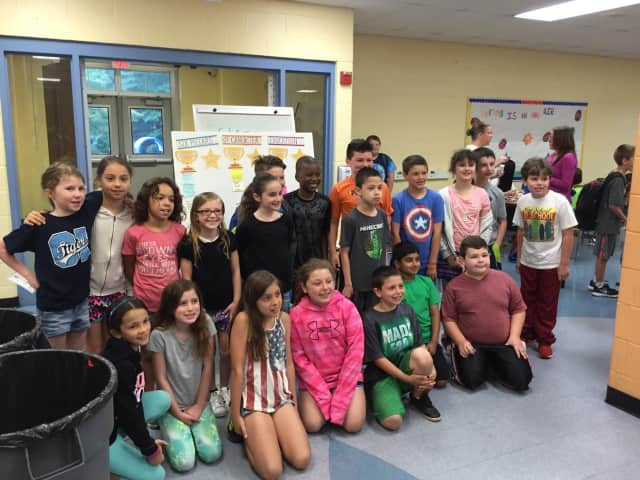 Cherry Lane Elementary School students were recently treated to an awards breakfast to honor those who have been caring and shown good citizenship throughout the year.