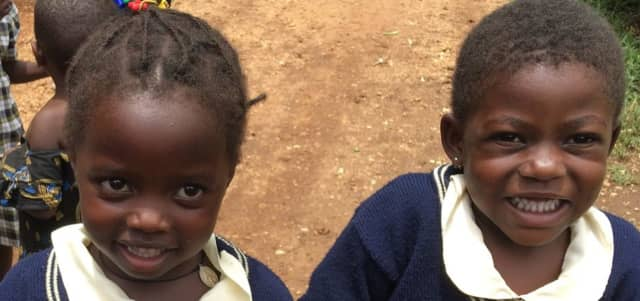Here are some of the kids that Children of Uganda works with.