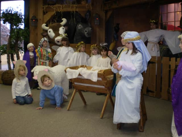 First Presbyterian Church in Carlstadt will host a living nativity with children performing with live animals.