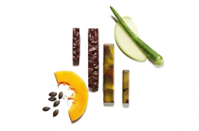 La Maison du Chocolat's Bien Être collection enables you to enjoy your fruits and veggies, and your chocolate, too. Courtesy La Maison du Chocolat.