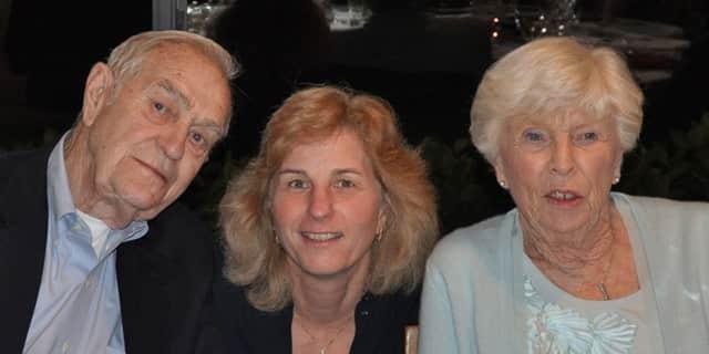 """Ervie """"Bud"""" Hawley, Barbara Kiselak, Carolyn Hawley."""