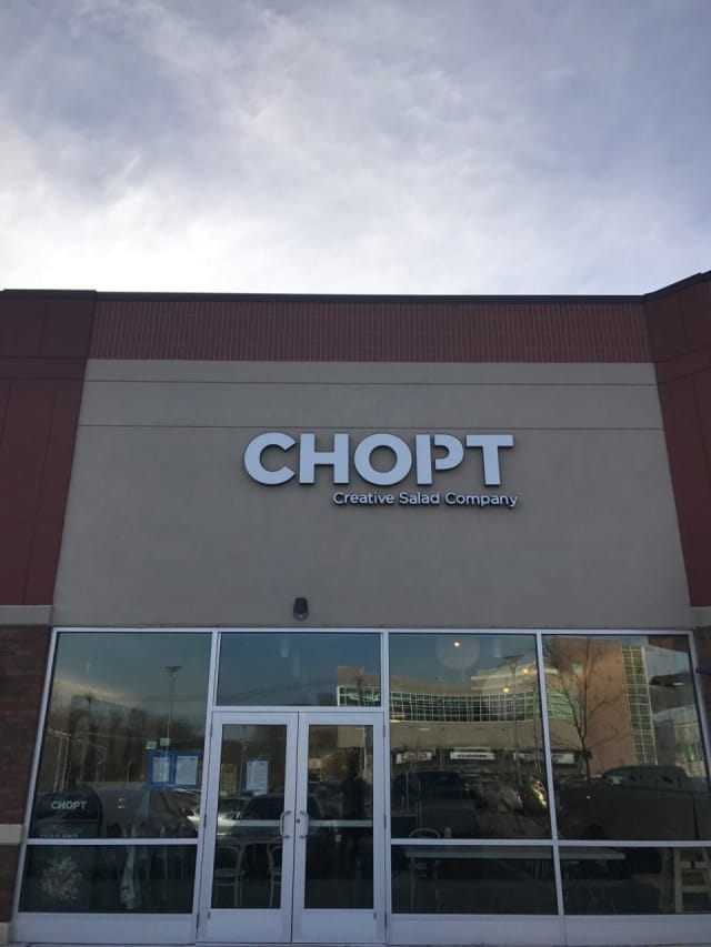 Chopt Creative Salad Company has opened its third Westchester location in Dobbs Ferry.