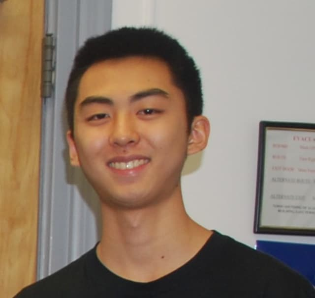 Jonathan Chung has been named a finalist in the Regeneron Science Talent Search competition.