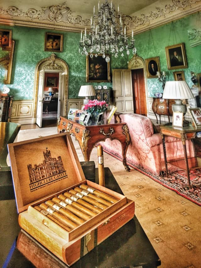 Highclere Castle Cigars and Highclere Castle Gin are two of the many ventures of the eighth Earl and Countess of Carnarvon. Photographs by Nick Caito.