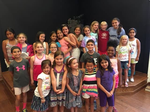 "Mike Risko Music School's cast for ""Disney's Cinderella KIDS."""