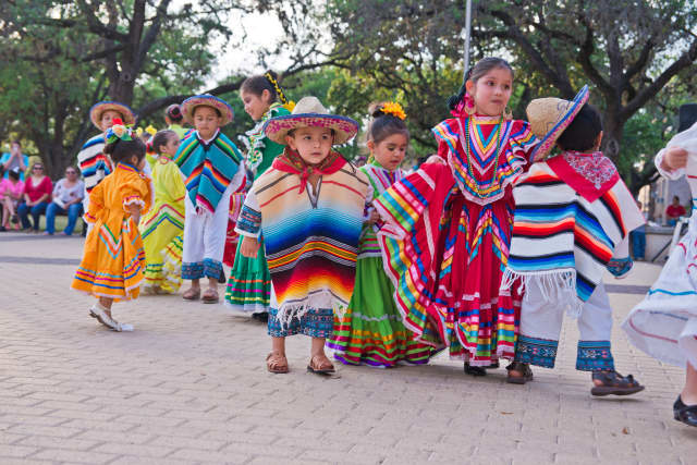 These well-dressed youngsters attended a Cinqo de Mayo celebration in Texas, in 2014.