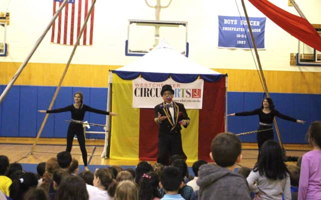 Pocantico Hills recently held a circus workshop