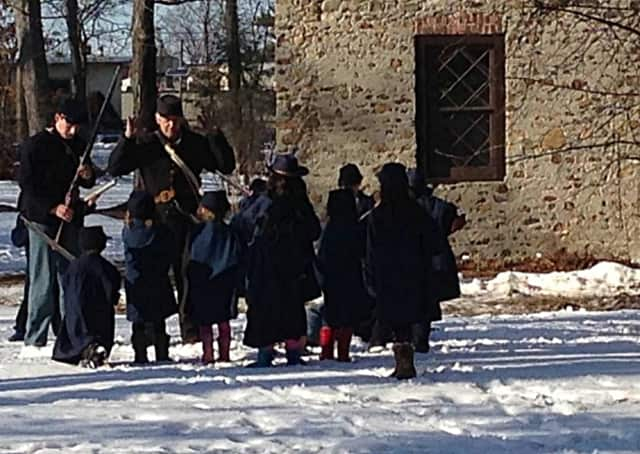 """The Hermitage holds a variety of history education events throughout the year -- including this Civil War-era """"proper drill instruction"""" with youngsters this February."""