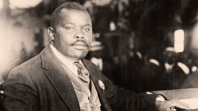 Civil rights activist Marcus Garvey was one of the twentieth century's most influential leaders of black nationalism.