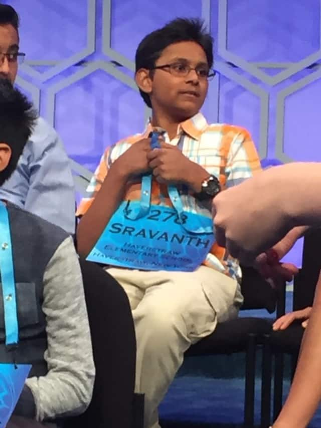 Sravanth Malla made it to the sixth round at the National Spelling Bee.