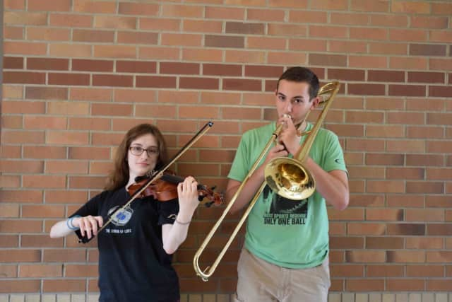 Irvington students Montgomery and Weinstein have been chosen to perform in the All State Festival of 2015 New York State School Music Association Winter Conference in December.
