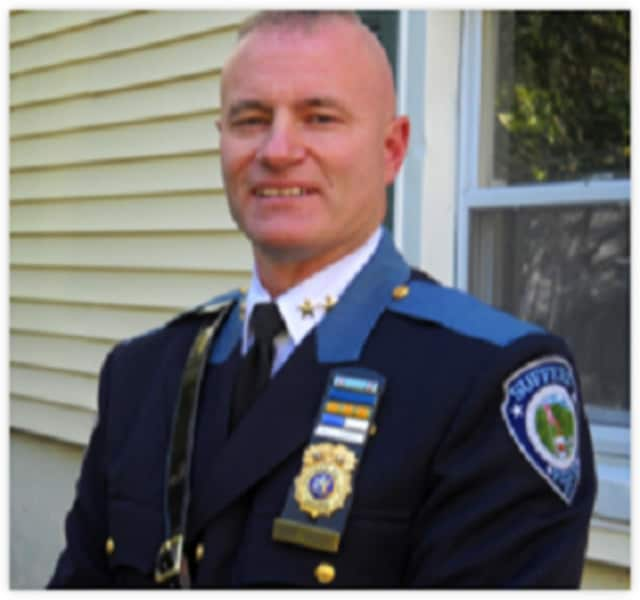 Suffern police Chief Clarke Osborn will meet with locals at Bagel Train in Suffern May 7.
