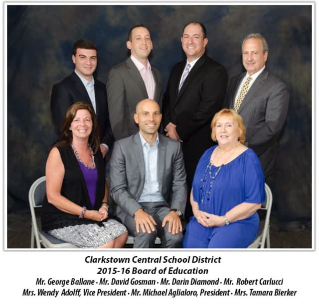 The Clarkstown Board of Education will meet twice during the month of January.