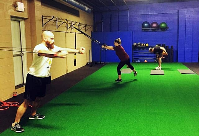Clients at Ferraro Functional Fitness use a variety of methods to reach their personalized goals.