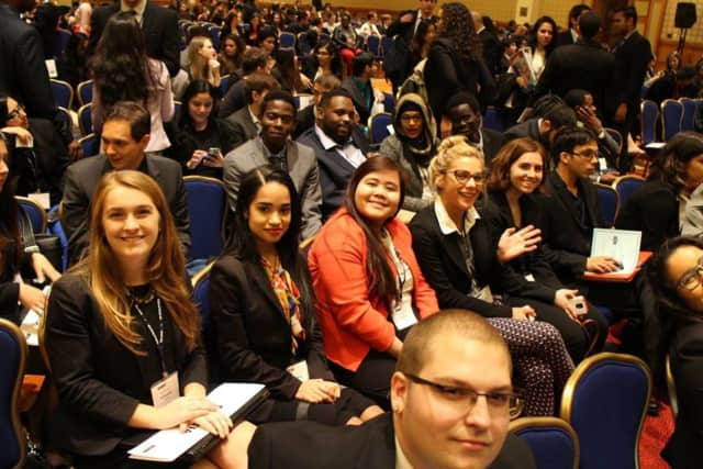 Pace's Model United Nations team brought home several awards last week at a national conference in Washington.
