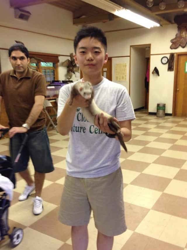 Kids can get up close and personal with wild mammals in the Closter Nature Center's learning series.