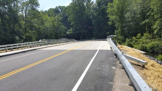 The Linden Avenue Bridge has been reopened after substantial construction work that began in April.