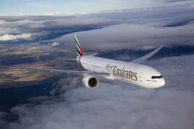 A Rockland County man and his family were on board a Wednesday Emirates airline flight EK521 that burst into flames shortly after a crash landing in Dubai, lohud.com says.