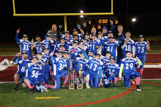 Closter Cobras championship photo