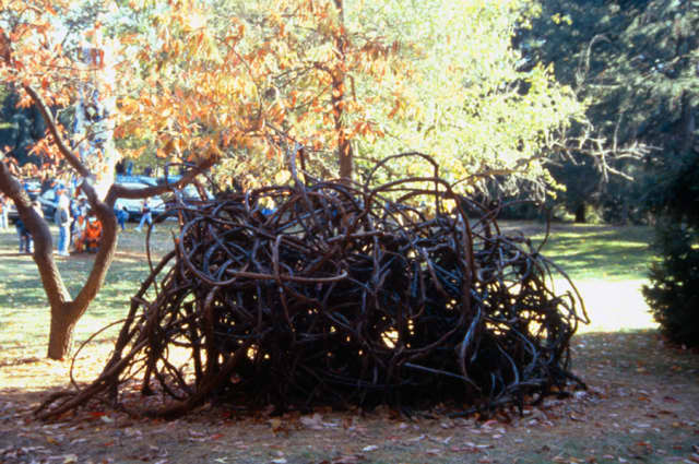 "Collaborative Concepts Farm Project 2018 will again include performance art and sculpture in Garrison. Here, ""Nest"" by Cristina Biaggi. Courtesy Collaborative Concepts."