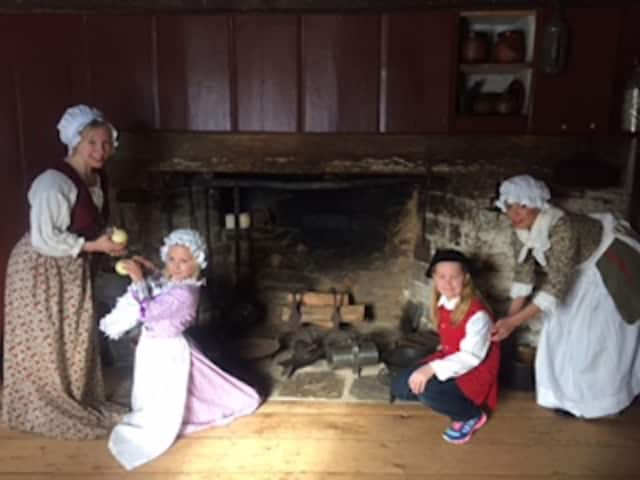 Colonial Cookery and Customs for Kids at the Wilton Historical Society. This month's event will take place on Saturday, May 14 from 11 a.m. to 12:30 p.m. at the Wilton Historical Society, 224 Danbury Road, in Wilton.