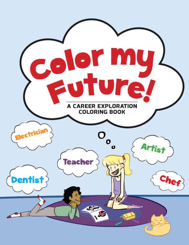 Poughkeepsie High School students published a new coloring book.