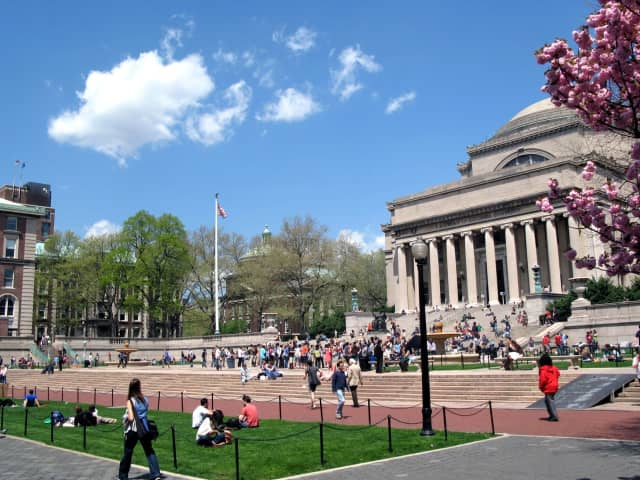 "Columbia University, based in upper Manhattan just 17 miles from Westchester County, was ranked No. 1 in New York state on niche.com's latest ""best colleges"" list."