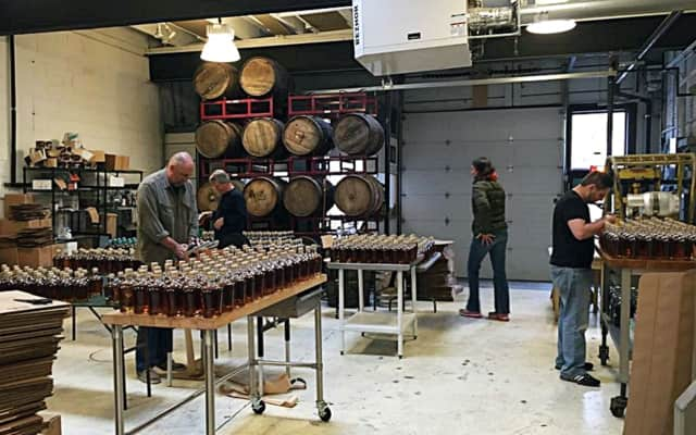 Denning's Point Distillery is hosting a release party Saturday.