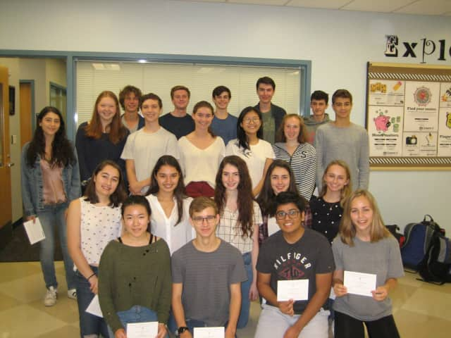 A total of 23 seniors at Staples High School were named National Merit Scholarship Commended Students.