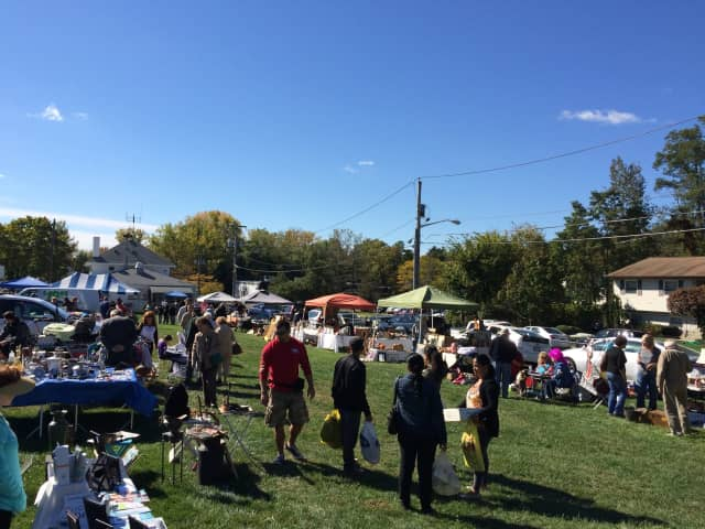 Rain cancelled the Congers Ultimate Yard Sale and Flea Market on Saturday, forcing organizers to move it to Saturday, Oct. 8