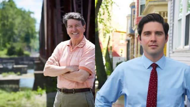Rep. John Faso is being challenged by Gareth Rhodes.