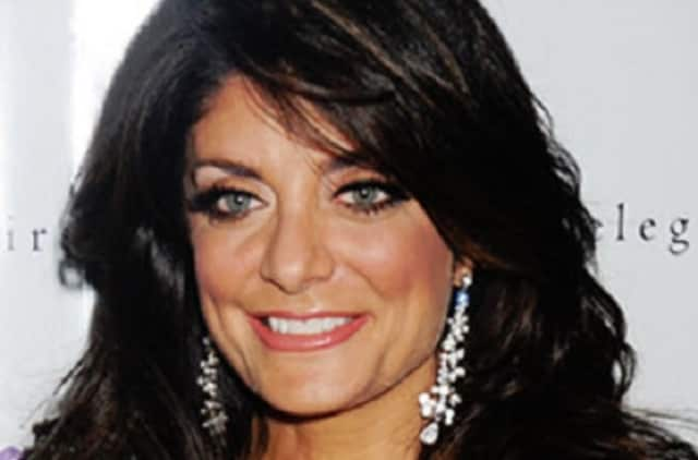"""Kathy Wakile of the '""""eal Housewives of New Jersey"""" has put her home in Wayne on the market, after she and her husband completed building a mansion in Franklin Lakes."""